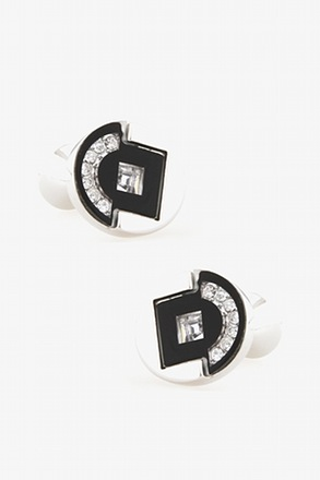 Accented Oval Cufflinks