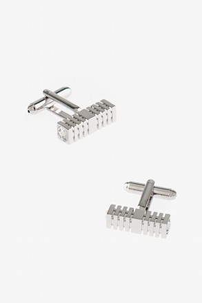 _Architectural Bar Cufflinks_
