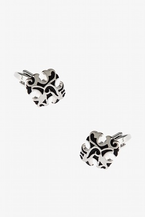Baroque Cross Cufflinks