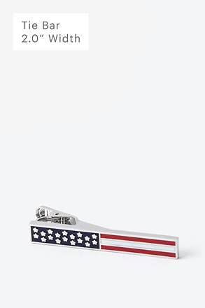 Bars & Stars Tie Bar