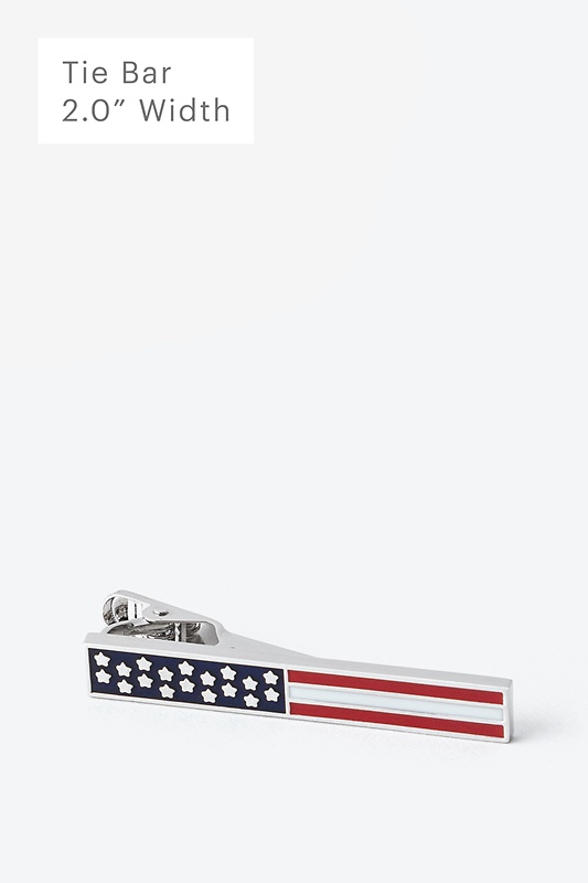 Bars & Stars Tie Bar Photo (0)