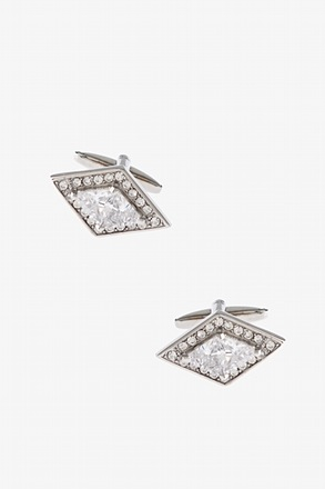 Bejeweled Rhombus Cufflinks