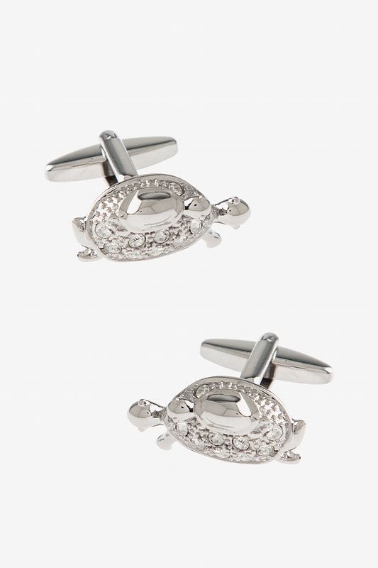 Bejeweled Turtle Cufflinks