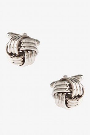 Big Intricate Knot Cufflinks