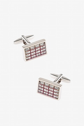 Bling Grid Cufflinks