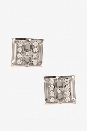 Blinged Out H Cufflinks