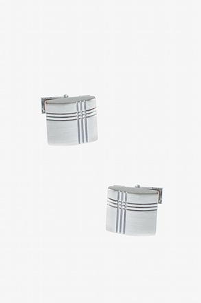 Classic Intersection Square Cufflinks