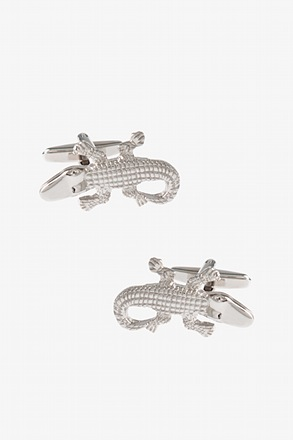 _Cool Crocodile Cufflinks_