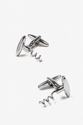Corkscrews Cufflinks