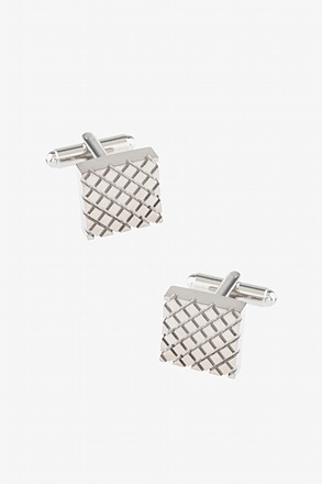 _Criss Cross Cufflinks_