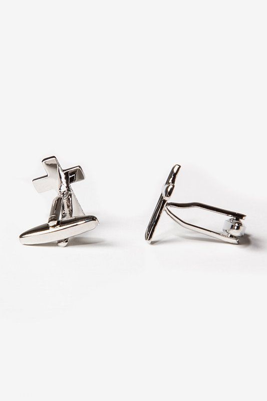 Cross SIlver Cufflinks