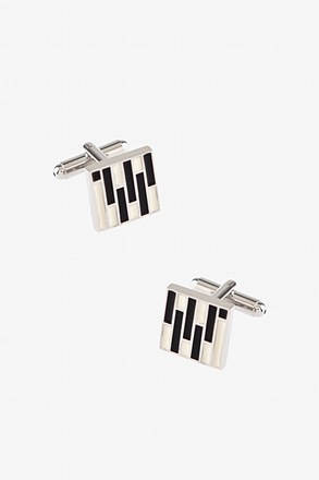 Enameled Tiles Cufflinks