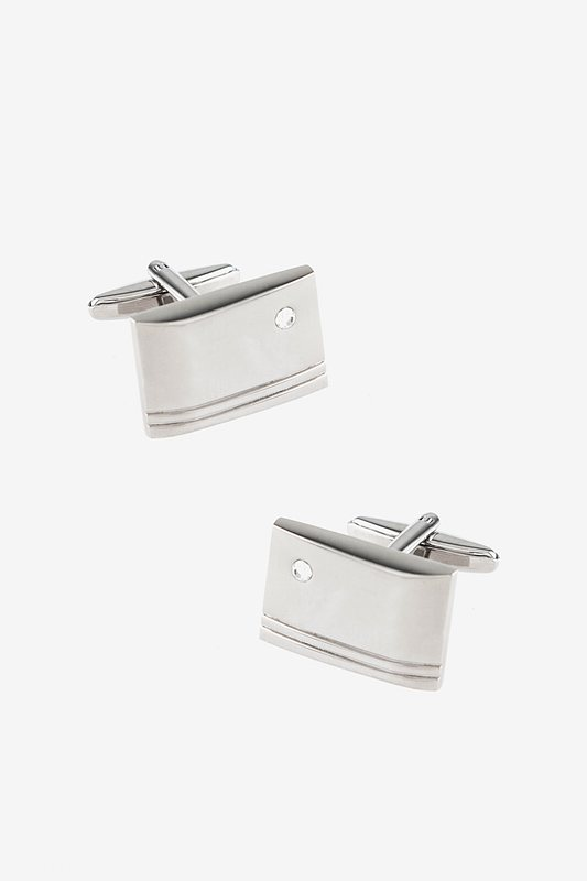 New Engraved Rectangle Cufflinks hot sale