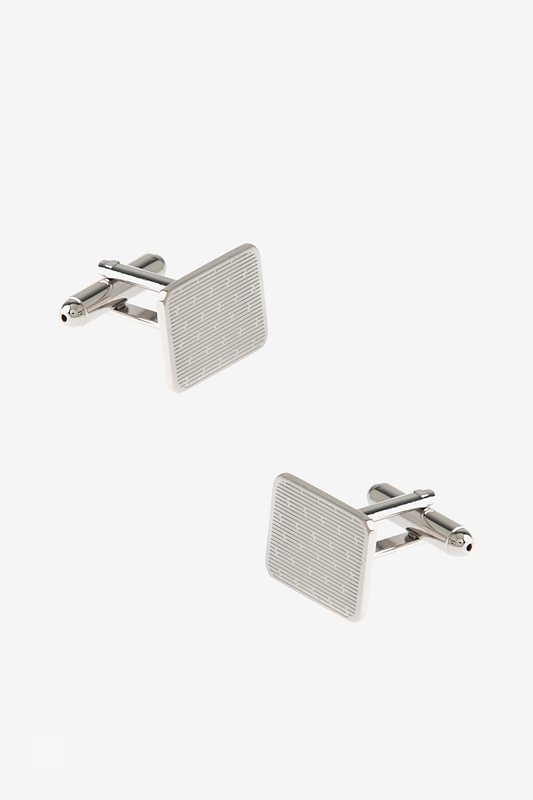 Etched Linear Cufflinks Photo (0)