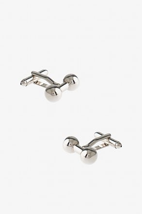 Executive Barbell Cufflinks