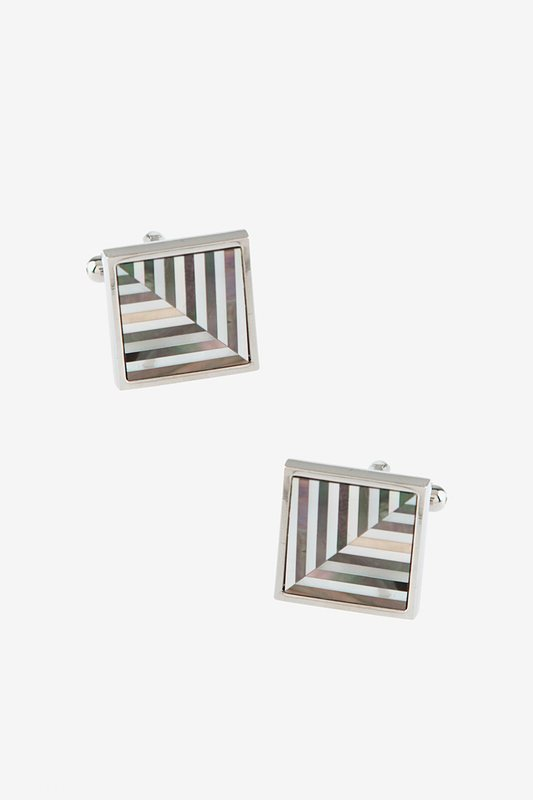 Feather Inlay Cufflinks Photo (0)