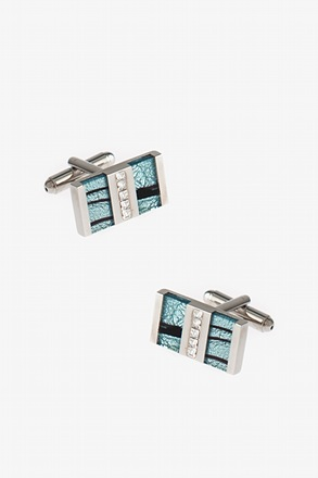 Flashy Pearl Cufflinks
