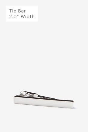 _Flat Brushed Tie Bar_