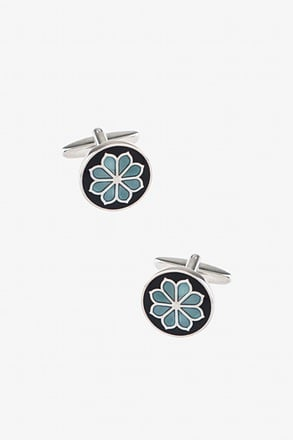 Floral Brilliance Cufflinks
