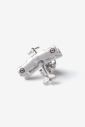 Flying Plane Lapel Pin