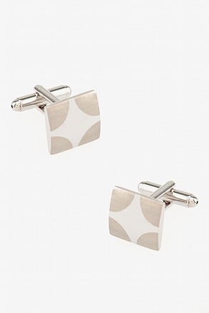 _Four Corners Square Cufflinks_