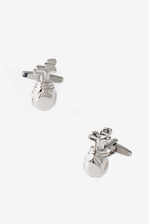 Golf Club Set Cufflinks