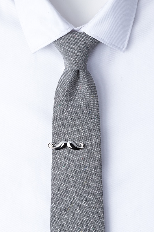 Handlebar Mustache Tie Bar Photo (1)