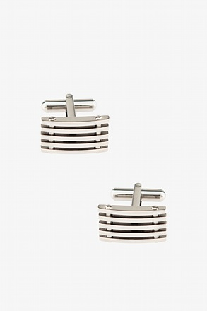 Horizontal Bars Cufflinks