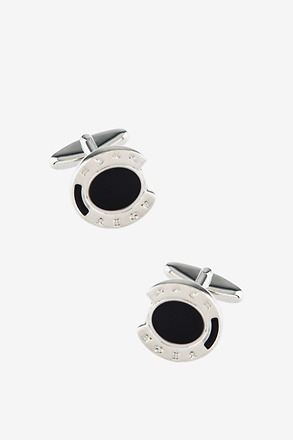 Horseshoe Round Cufflinks
