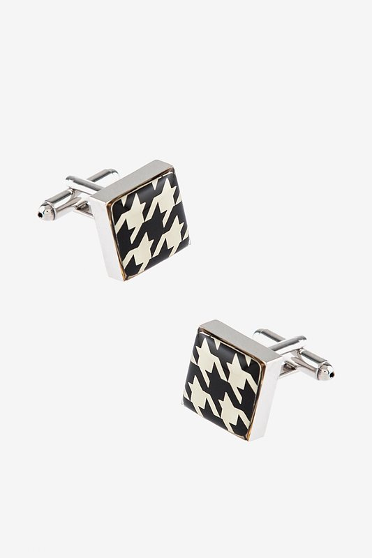 Houndstooth Cufflinks Photo (0)