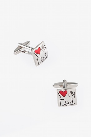 _I Love Dad Cufflinks_