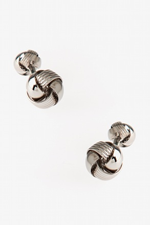 Intricate Knot Cufflinks