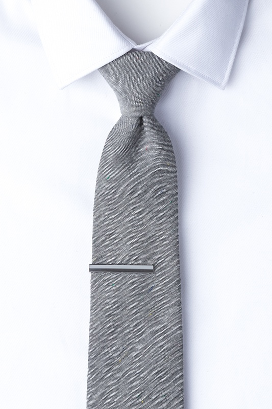 Moby Silver Tie Bar Photo (2)