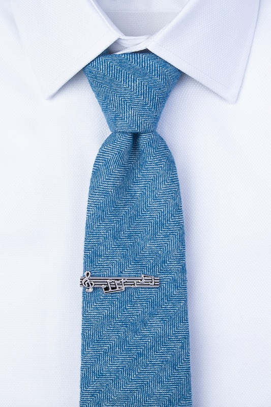 Music Notes Tie Bar Photo (1)