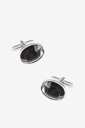 Peak Oval Cufflinks