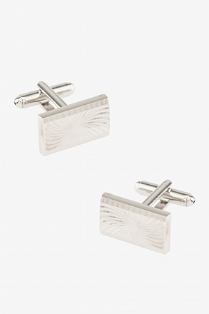 _Pinwheel Rectangle Cufflinks_