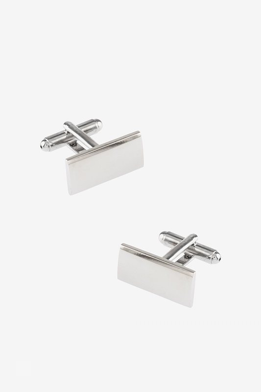 Polished Rectangle Cufflinks