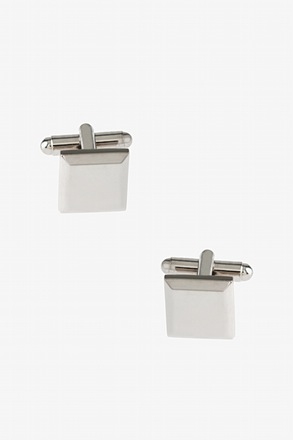 Rounded Edges Cufflinks