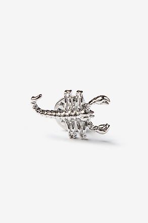_Scorpion Silver Lapel Pin_