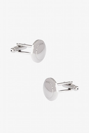 Simple Accents Round Cufflinks