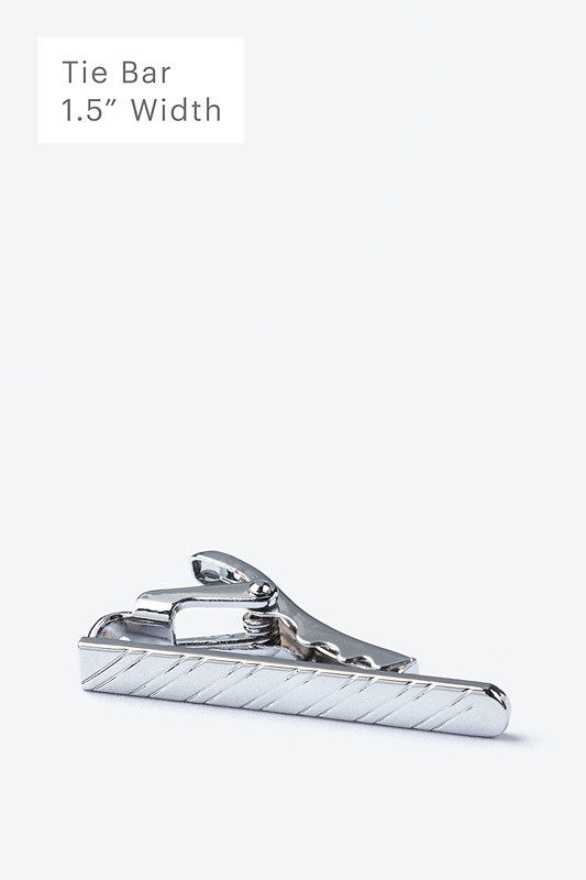 Slate Silver Tie Bar Photo (0)