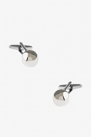 _Solid Ball Cufflinks_