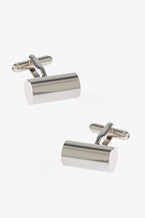_Solid Barrel Cufflinks_