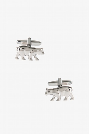Solid Bear Cufflinks
