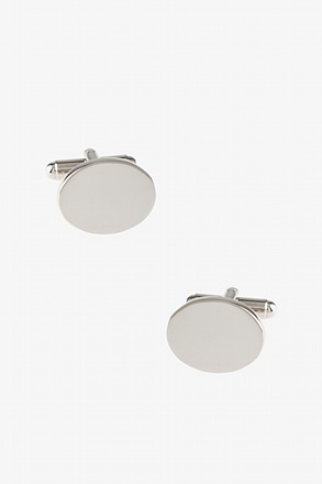 Solid Oval Cufflinks