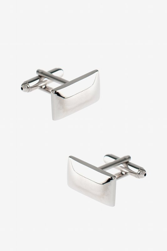 Solid Rounded Rectangle Cufflinks Photo (0)