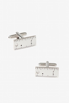 Solid Ruler Cufflinks