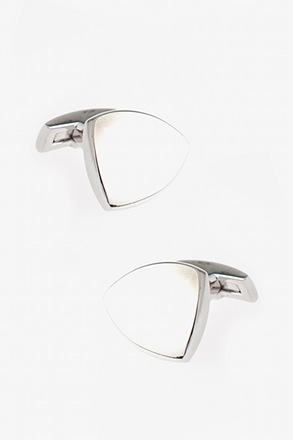 Solid Shield Cufflinks