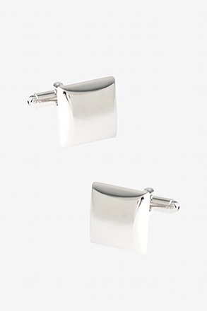 Solid Thick Square Cufflinks