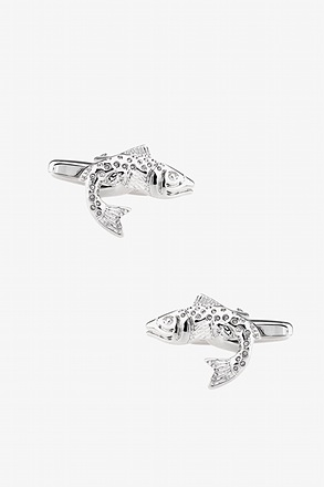 _Spotted Trout Cufflinks_
